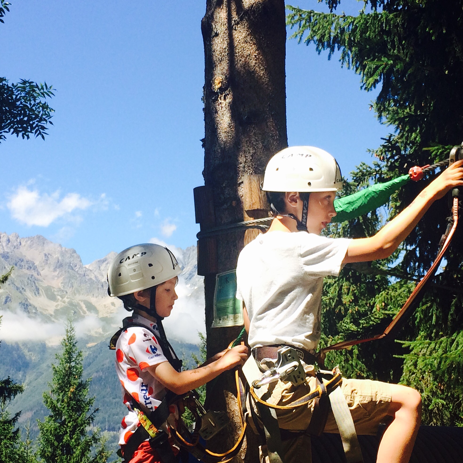 Vaujany's answer to Go Ape!
